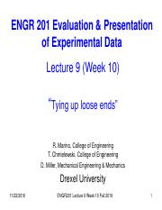 ENGR_201_Fall 2016_Lecture 9_Week 10
