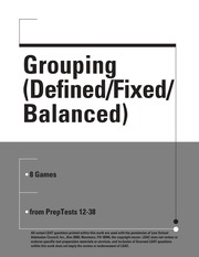Grouping Defined Fixed Balanced