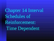 Ch. 14 Extension Interval Schedules