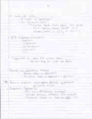 Theory Notes