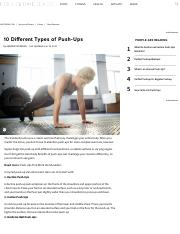 10 Different Types of Push-Ups _ LIVESTRONG