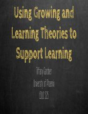 Gardner,T_Culminating Project- Growing and Learning Theories Part II