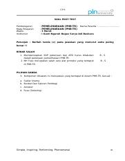 CP8 - Soal Post Test
