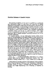 Statistical Inference_Quadrat_Analysis