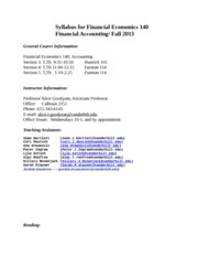 Syllabus Fall 2013
