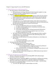 ISAM 5330 Chapter 6 Reading Notes.docx