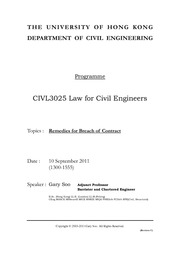 CIVL3025_Law_for_Civil_Engineers_Handout_on_10_09_2011 _Afternoon