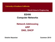 EE450-U3-Addressing_Lecture-Nazarian-Spring10