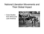 Lecture 16 National Liberation Movements and Their Global Impact pdf version