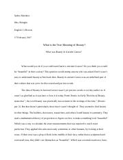 Beauty in ancient greece essay (Autosaved) sydny.docx