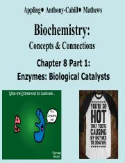 Fa16_474 Chapter 8 Enzyme Catalysis_Part1