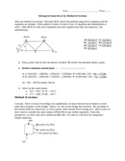 9-Bridge 400 Method of Sections-Teacher.doc