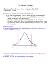 Confidence Intervals ASW12