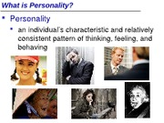 IVC Psyc 1 Summer 12 MW Lecture 11 (Personality)