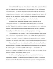 The God's Must Be Crazy Essay
