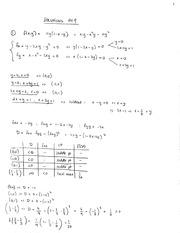 Paper Homework 9 Solutions