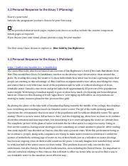 blue gold jim hightower thesis