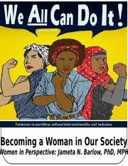 Lecture3-Becoming a Woman in Our Society-2