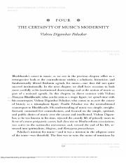 Bakhle 2005 The Certainty of Music's Modernity