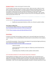 MIS600 Capstone _Business Problem_NOTES