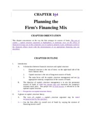Chapter 16 Solutions FIN 499.doc