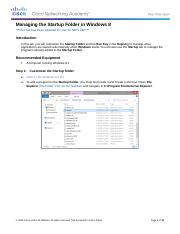 6.3.1.2 Lab - Managing_the_Startup_Folder_in_Windows_8.docx