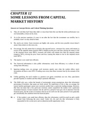 Chapter 12 Homework Solution on Introduction to Finance