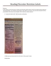 Reading Chocolate Nutrition Labels Activ 1.docx