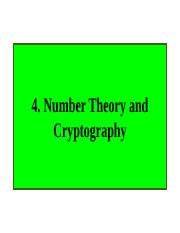 M131 Tutorial_3 Number Theory Cyptography