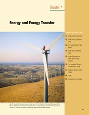7 - Energy and Energy Transfer
