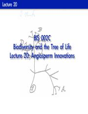 BIS 2C Lecture 20 (Before)