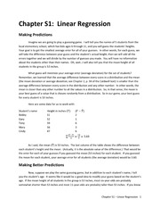 Chapter S1 - Linear Regression