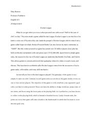 Rocket League Essay.docx
