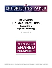 Renewing U.S. Manufacturing (1)