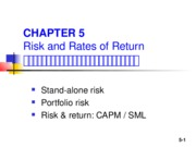 Ch06 risk and reture TH
