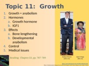 Topic 11-Growth Spring 2015-NOTES