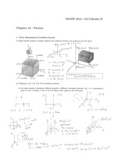 Chapter 12 - Vectors [Ans]