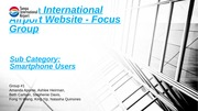 Website Usability Project Presentation