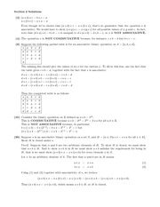 Homework H Solutions on Algebraic Structures and Functions