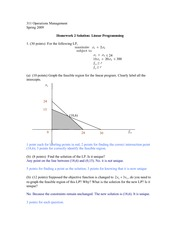 Homework2_Linear Programming_Solution
