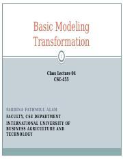 CSC-455_Lecture_04_Basic_Modelling_Transformation