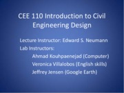 Introduction to Civil Engineering Design
