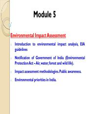 In pdf india impact environmental assessment