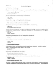 Summary Handout 09 - Meaning