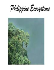 Philippine Ecosystems Lecture Notes.pdf
