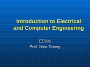 EE 302 - Lecture Slides - Unit 1.1 - Common Overview of EE302