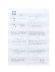 Quantitative Chemistry and Atomic Structure Notes