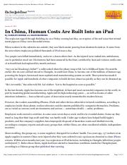 2012-01-25 Apple's iPad and the Human Costs for Workers in China_NYT.pdf