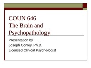 The_Brain_and_Psychopathology