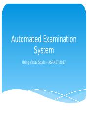 Automated Examination System.pptx